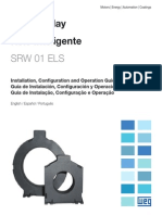 WEG Srw01 Els Sensor de Fuga a Terra 10000529296 Guia de Instalacao Portugues Br