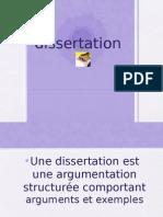Cours sur la dissertation