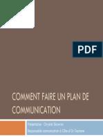 Comment Faire Un Plan de Communication Def