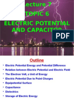 Electric Potential and capacity
