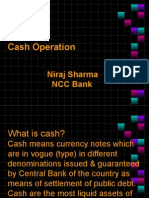 Niraj Sharma(Cash Operation