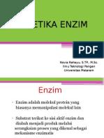 Kinetika Enzim New