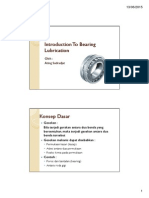 Introduction to Bearing Lubrication Technology