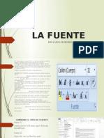 LA FUENTE (WORD)