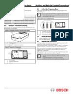 ISW-En1235 Pendant Panic Installation Manual