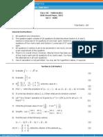 12 Class 2012 Paper