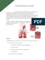 Síndrome de Dificultad Respiratorio Del Adulto Weno
