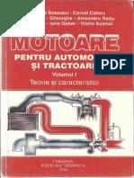 Gheorghe Bobescu - Motoare Pentru Automobile Si Tractoare Vol. i