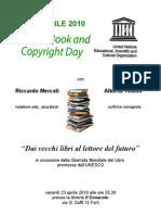 Giornata Mondiale Libro a Forlì con Riccardo Mercati e Alberta Tedioli