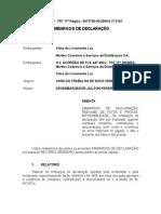 acórdão TRT-ES. Martins Comercio. improcedente
