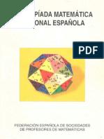 olimpiada de matemática española