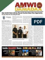 Maamwi Naadamadaa Newspaper - Fall 2015