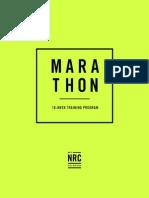 Marathon Training Plan Miles 7-7-2015
