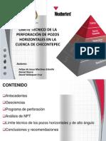Limite_tecnico_en La Perforacion de Pozos_chicontepec