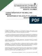 TESIS MODELO Caracterizacion Pyme Localidad Usaquen (Ejemplos)