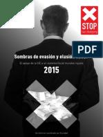 Sombras de Evasión y Elusion Fiscal 2015