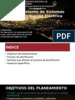 PLANEAMIENTO DE SISTEMAS DE DISTRIBUCION ELECTRICA