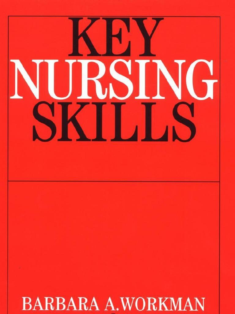 9bbec9dfe78ed Key Nursing Skills