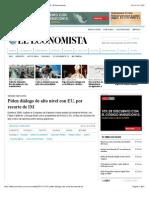 25-10-15 Piden diálogo de alto nivel con EU, por recorte de IM   El Economista