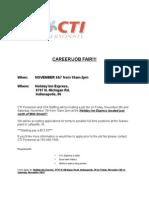 CTI job fair 11-6