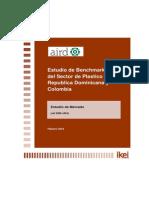 Benchmarking en El Sector Del Plasticos Entre Republica Dominicana y Colombia