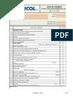 Ing-lc-012 Formato Para Elaboracion de Lista de Chequeo