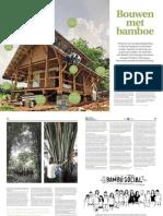 Bouwen met bamboe