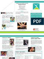 CMHA Kingston Program Brochure 2015