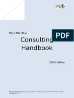The Little Blue Consulting Handbook, 2015 Edition