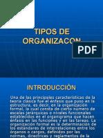 Tipos de Organizacon 2