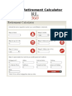RL360° Retirement Calculator