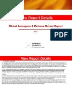 Global Aerospace & Defense Market Report