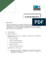 Plan de Negocios Conacyt 2014