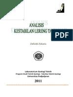 Zufialdi Zakaria Analisis Kestabilan Lereng 20111