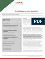 NCE Raising Energy Efficiency Standards to the Global Best