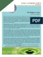 the bridge to unity print
