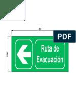 Ruta de Evacuacion-izquierda