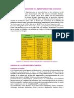 Cuentas Del Departamento de Ayacucho