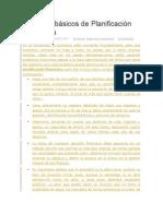 Consejos Básicos de Planificación Financiera
