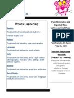 newsletter nov  9-13