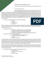 Primer Examen Parcial de La Materia de Psiquiatría II