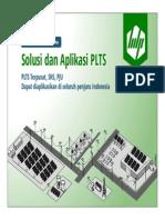 PLTS - Solusi Dan Aplikasi