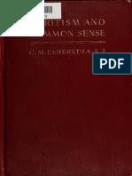 HEREDIA, C. M. - Spiritism and Common Sense