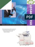 Catálogo Lanier LD140-LD240-LD250