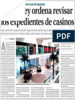 04-11-15 Monterrey ordena revisar los expedientes de casinos