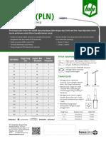 Katalog PJU LED - Hexamitra