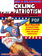 Tackling Paid Patriotism Oversight Report