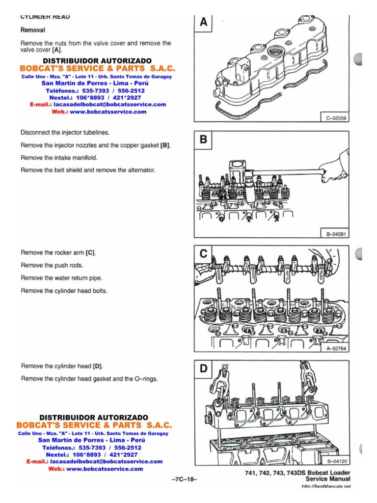 Motor Kubota V1702. Kubota V1702 Engine Workshop Manual ...
