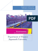 Elements of Macro-Environment Its Impact Over Marketing of Bangladeshi Goods Services