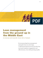 2_Lean Management From the Ground Up in the Middle East